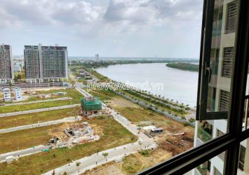 For rent 2-bedroom apartment Bora Bora tower at Diamond Island high floor with nice river view
