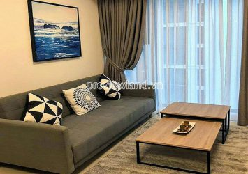 Nice view Studio apartment for rent middle floor 1 bedroom in Gateway Thao Dien