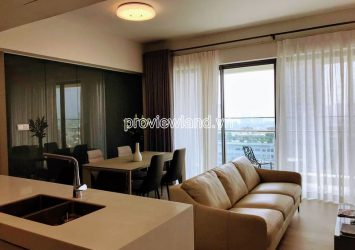 Apartment for rent with 2 bedrooms at Gateway Thao Dien high floor block Madison