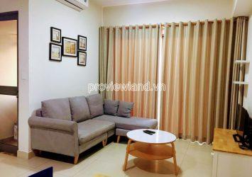 High floor apartment for rent at block T1 Masteri Thao Dien includes 2 bedrooms view Landmark81