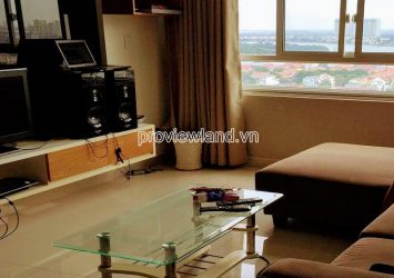 High floor apartment at Tropic Garden Thao Dien need for rent 2 bedrooms C1 tower
