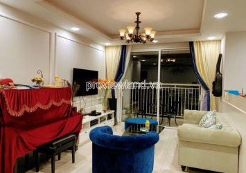 Luxury apartment for sale in Tropic Garden Thao Dien high floor block A with 3 bedrooms