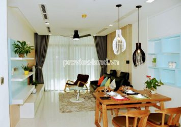 Apartment for rent in Vinhomes Central Park with 2 bedrooms high floor block Park5