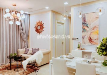 High floor apartment for rent in Vinhomes Golden River including 2 bedrooms block Aqua1