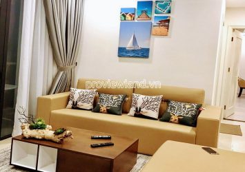 Apartment at Vinhomes Golden River need for rent 2 bedrooms middle floor of block Aqua1 river view