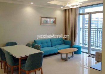 Luxury apartment for rent in Vinhomes Central Park with 2 bedrooms at block Central 3