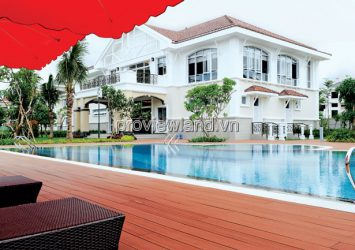 Villa for sale in Phu My Hung District 7 area 23x28m 1 basement 3 floors