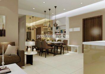 Apartment includes 2 bedrooms for rent in Estella Heights high floor block T2