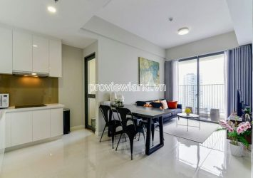 High floor 2 bedrooms apartment for rent in Masteri An Phu block B view highway very nice