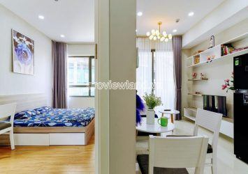 Luxury apartment in block A Masteri An Phu for rent with 1 bedroom low floor