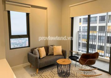 Apartment for rent high floor block A at Masteri An Phu including 2 bedrooms nice view