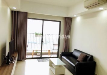 Apartment in Masteri Thao Dien for rent high floor block T4 with 2 bedrooms river view