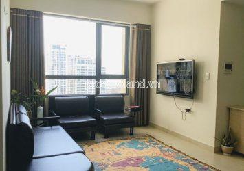 Need for rent 2-bedroom apartment high floor in Masteri Thao Dien nice view