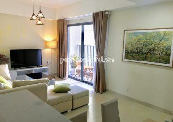 Apartment need for rent in Masteri Thao Dien block T4 middle floor with 2 bedrooms