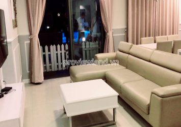 Duplex apartment for rent at Masteri Thao Dien with 2 floors 3 bedrooms swimming pool view