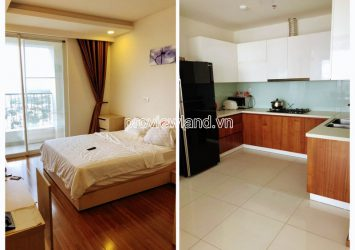 Apartment for rent in Thao Dien Pearl high floor including 2 bedrooms block B