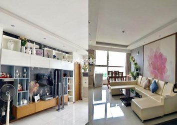Thao Dien Pearl apartment for sale nice furnished with 2 bedrooms on middle floor