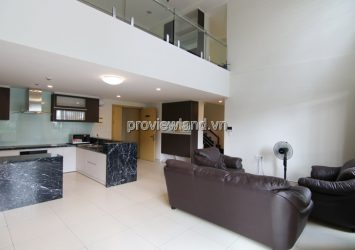 Duplex apartment for rent in Masteri Thao Dien with 5 bedrooms 2 floors with garden