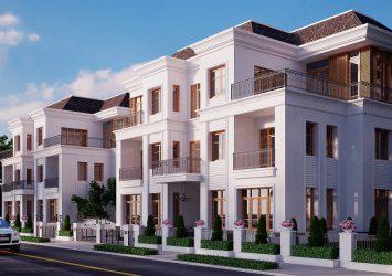 Villa Vinhomes Tang Cang Nguyen Huu Canh 275m2 2 floors