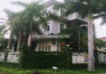 Thao Dien Villa for sale in District 2 has a garden swimming pool with 1 basement 3 floors 5 bedrooms