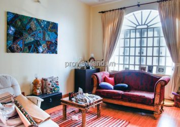 Selling Thao Dien villa on Nguyen U Di street 1 ground floor 1 floor attic with area of 300m2