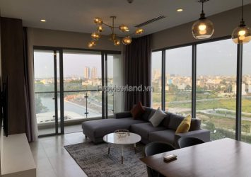 Diamond Island apartment for rent 3 bedrooms full furnished river view