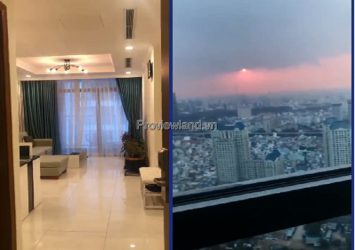 Apartment needs to rent high floor in Vinhomes Central Park 2 bedrooms No. 7
