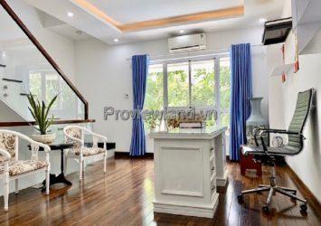 Villa Mega Ruby Khang Khang for rent 1 ground 2 floors 3 bedrooms fully furnished