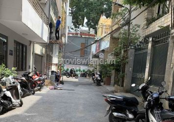 House for sale in District 1 Nguyen Van Thu 4 floors 5x20m with month machine