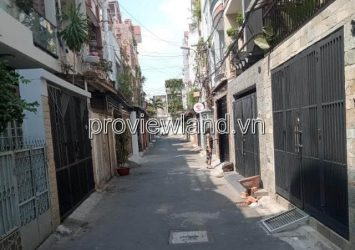 Sell a car alley on Cach Mang Street in August Tan 50m2 with 3 floors