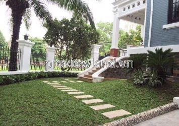 Villa for sale located on Thao Dien Compound  750m2 3 floors 5 bedrooms