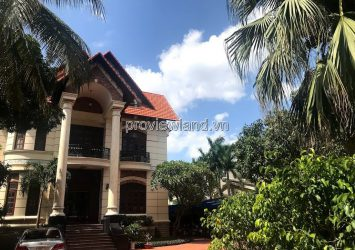 Thao Dien villa on Nguyen U Di street is for sale with an area of 1200m2 has 3 floors