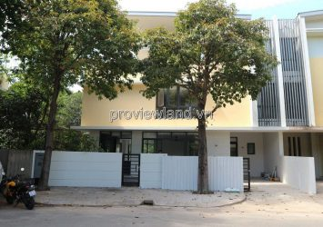 The Garland Villa for rent in District 9 with an area of 300m2 3 floors 5BRs