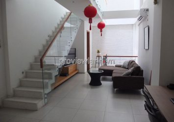 House for rent in Thao Dien, District 2, Street 54, with 3 floors of 3 bedrooms