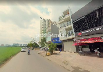 House for sale in District 2 frontage Nguyen Hoang street 1 ground 3 floors 4x20m