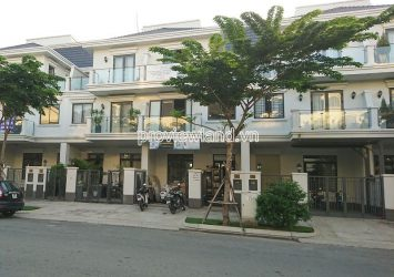 Lakeview City townhouse for rent in District 2 includes 4 bedrooms 4 floors 5x20m