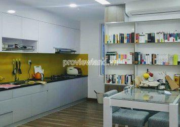 Apartment for rent with 2 bedrooms high floor block A2 Tropic Garden Thao Dien
