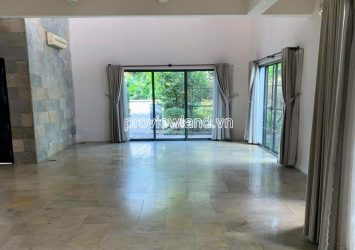Riviera Villa for rent in District 2 with 1 ground 2 floors had area of 343m2