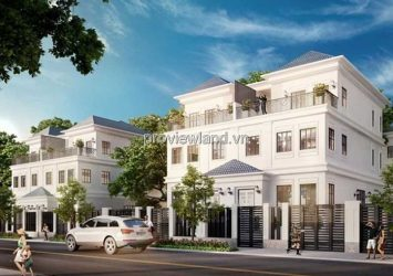 Lakeview City Villa for sale in District 2, area 8x20m, 1 ground floor 3 floors