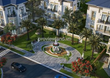 Selling Verosa Park Villa District 9, corner 3 fronts, area 11x17m