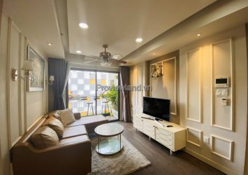 Masteri Thao Dien sells apartments 2 bedrooms fully furnished in Tower T5 No. 07