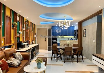 Palm Height apartment for rent in T2 tower high floor 3 bedrooms high class furniture