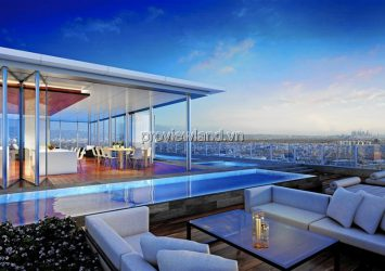Penthouse Vinhomes Central Park apartment Landmark 81 building 2 floors 397m2 4Brs