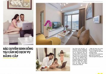 High floor 1 bedroom apartment for rent in Vinhomes Central Park Landmark Plus tower