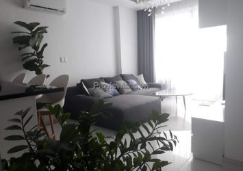 Tropic Garden apartment  2 bedrooms with river view fully furnished high floor for rent