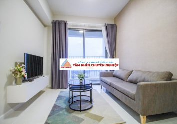 Apartment for rent 2 bedrooms full furnished high floor river view at Masteri An Phu