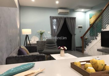 Apartment for rent with 3 bedrooms in Palm Residence fully furnished