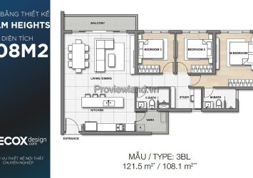 Selling Palm Heights 3 bedroom apartment No. 7 Tower T3
