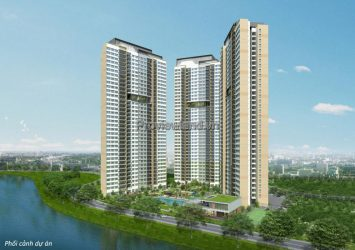 Sell ​​Palm Heights with 2 bedrooms apartment T1 tower low floor No. 4