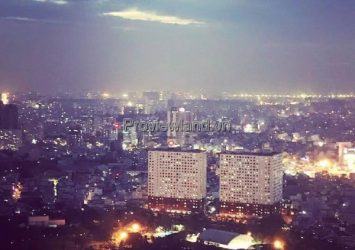 Vinhomes Central Park apartment for rent with 1 bedroom and high floor river view